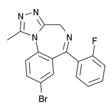 Chemical Structure of Flubromazolam